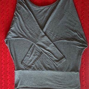 EUC Lucy Activewear Dolman Sleeve Top